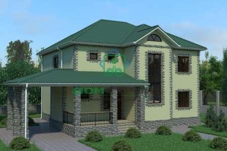 Проект дома B208