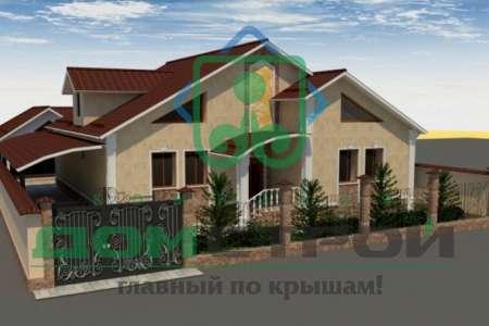 Одноэтажный загородный коттедж