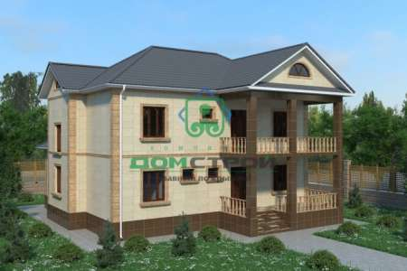 Проект дома B207