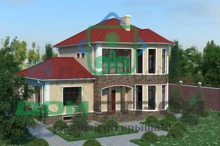 Cовременный двухэтажный дом